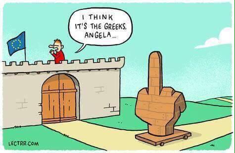 Griechischer Finger