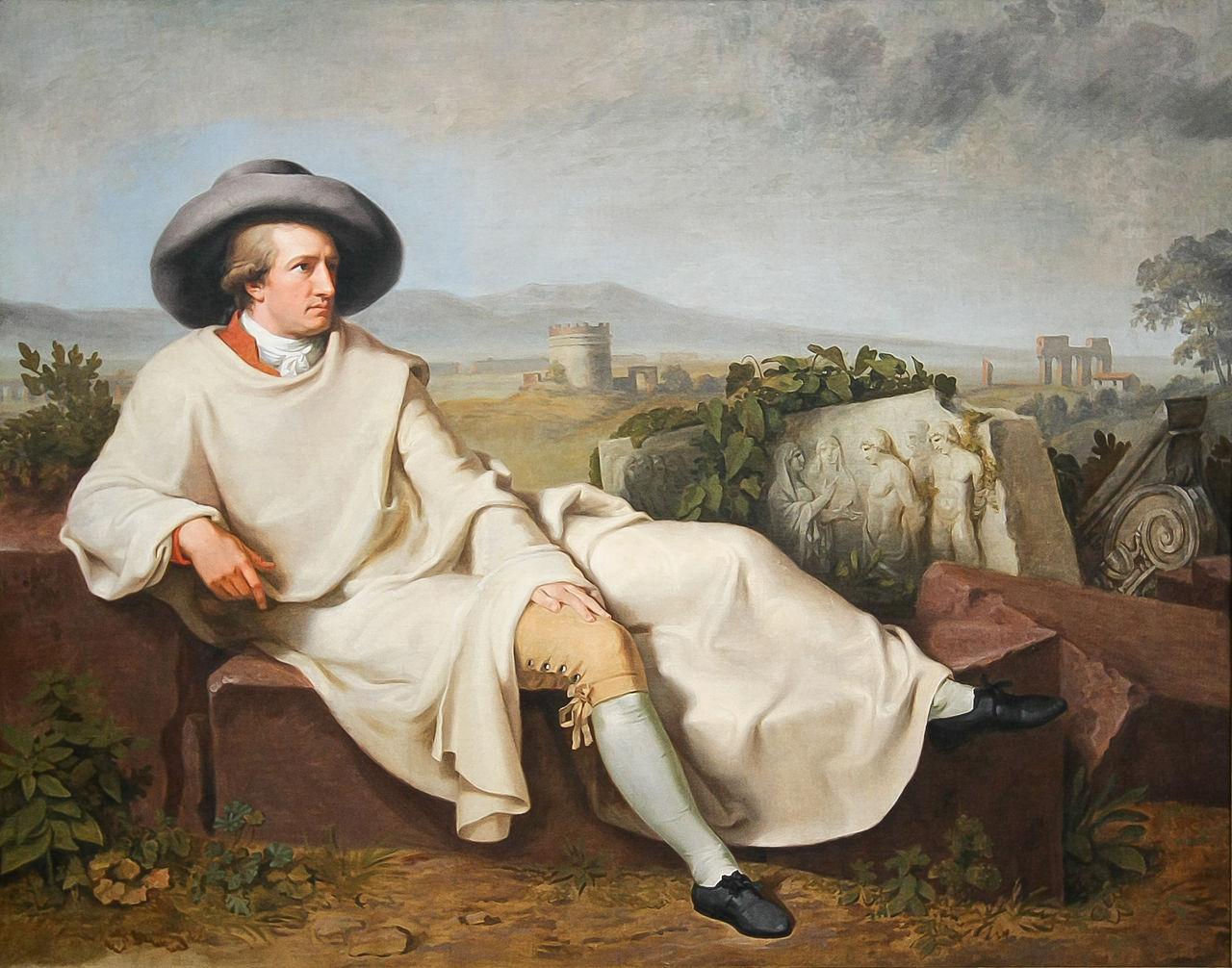 0045-02 Goethe ruht in Italien