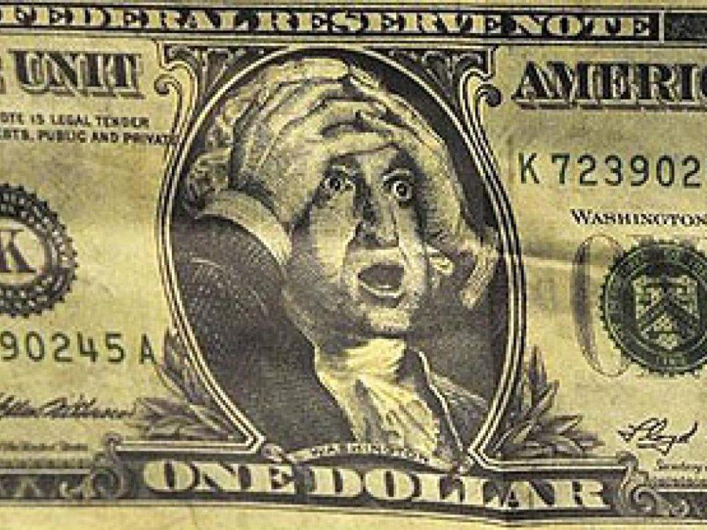 scared dollar